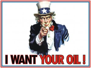 Uncle Sam I want your Oil