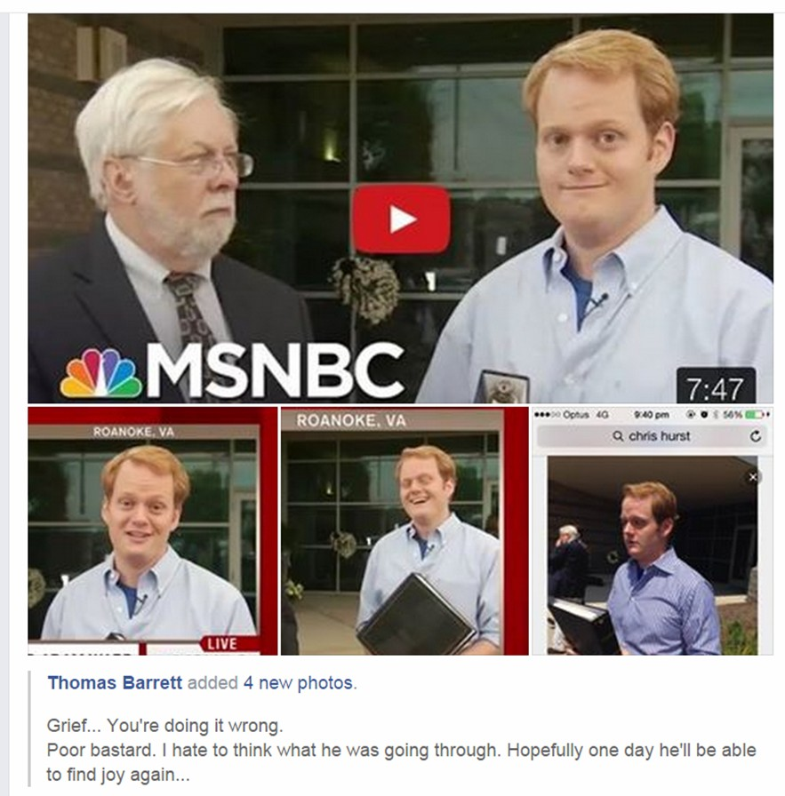 Chris Hurst crisis actor