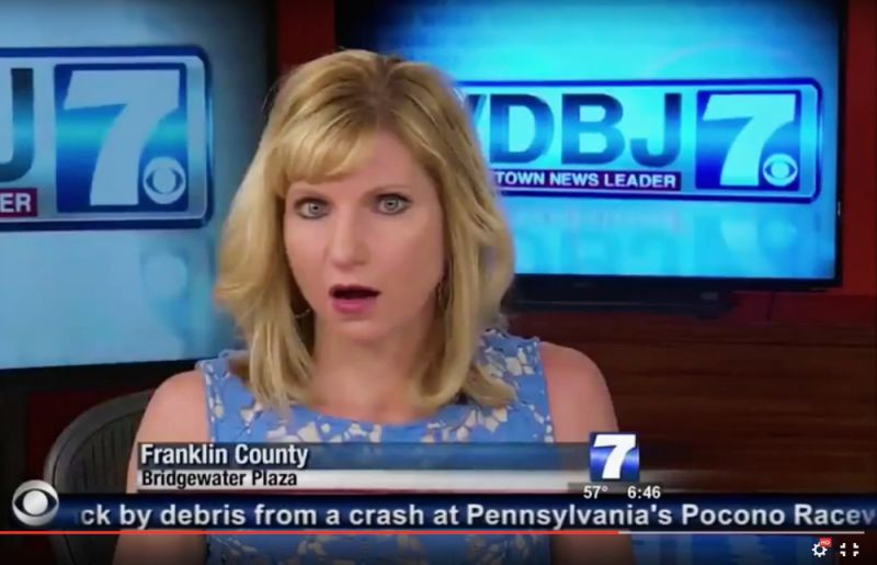 Shocked WDBJ reporter live shooting