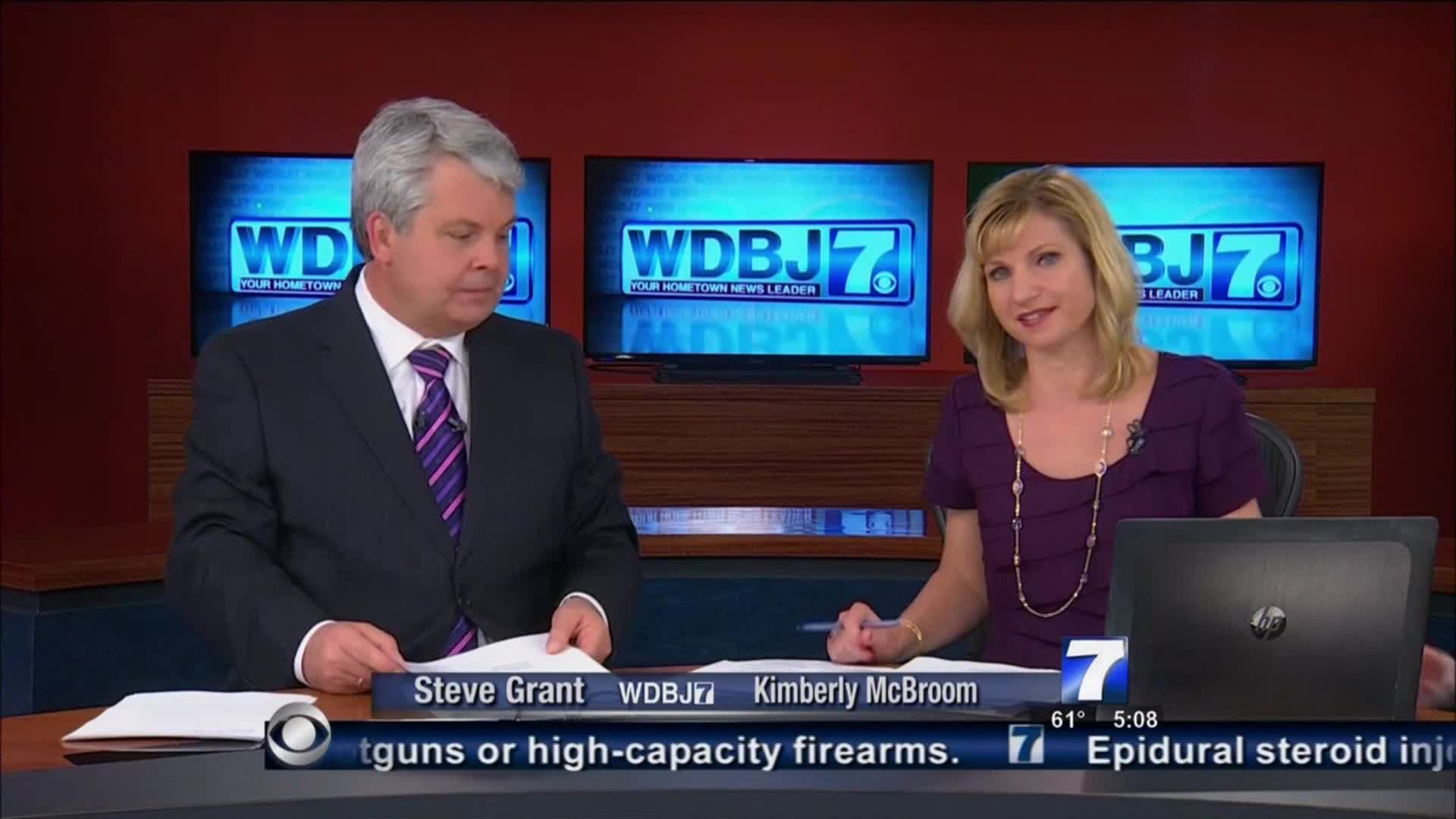 WDBJ anchors day after shooting