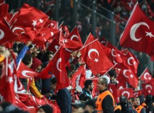 Turkey fans boo