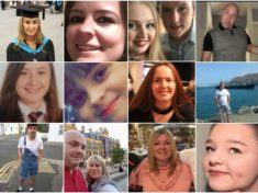 Manchester bombing victims
