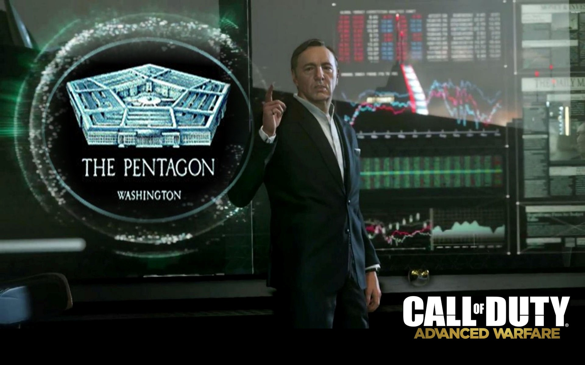 Call of duty advanced warfare is brainchild of pentagon - Spacey wallpaper ...
