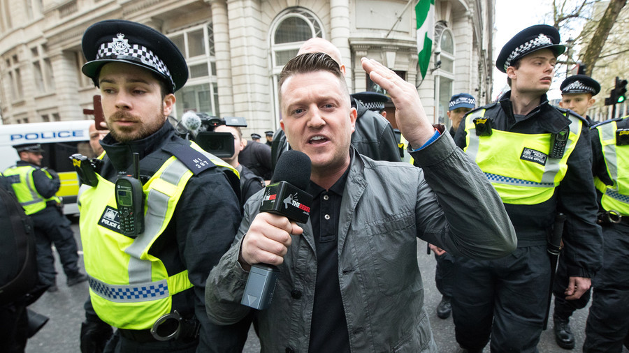 Tommy Robinson contempt of court